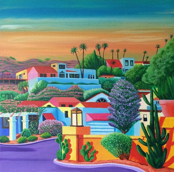"""Arizona Dreaming 1"" by Annette Gaffney - ORIGINAL SOLD"
