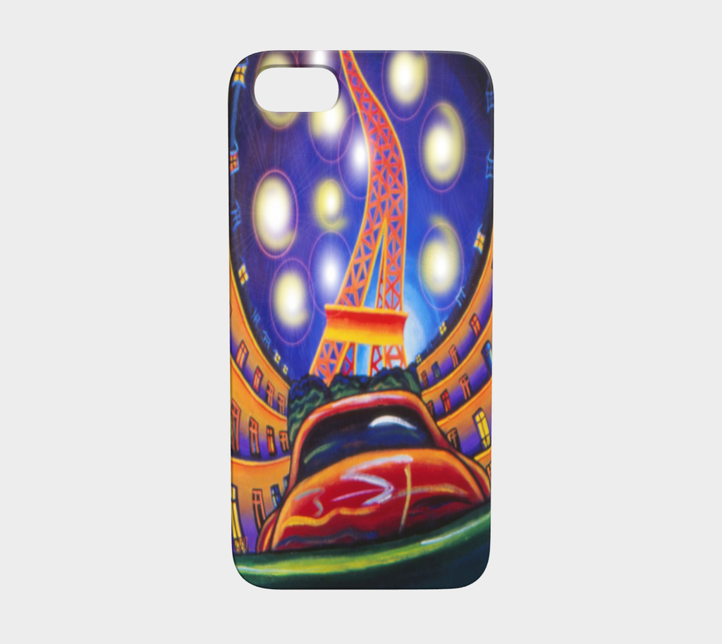 Stars on Paris Nights Device Cover