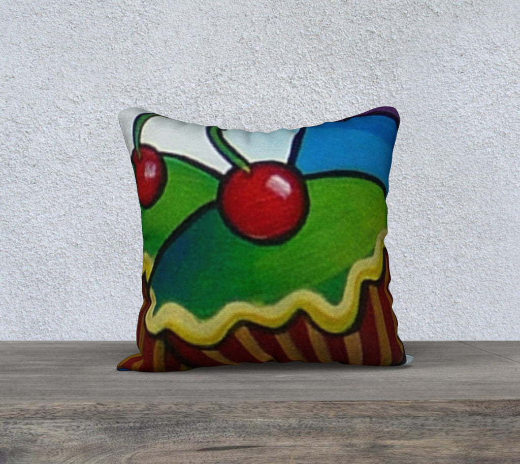 NEW! Hey Cupcake Cushion Cover