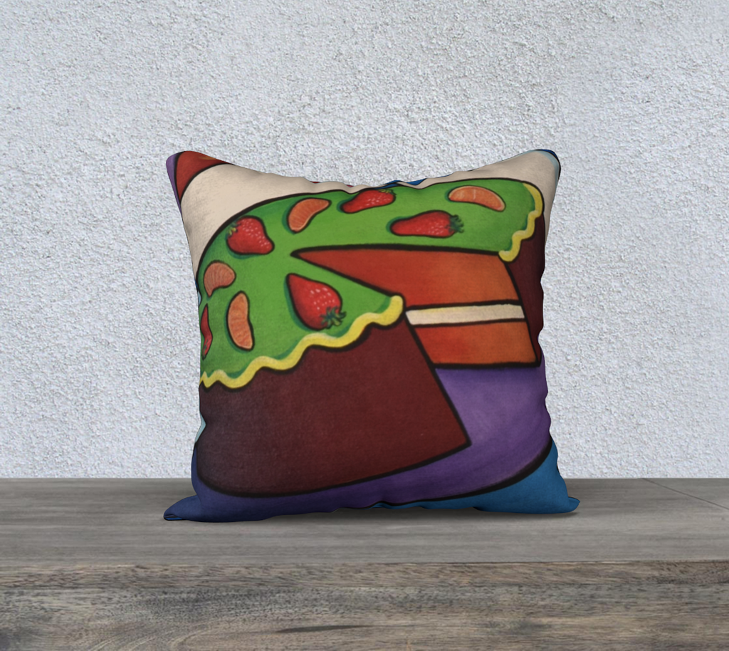 NEW! Hey Sweet Cakes Cushion Cover