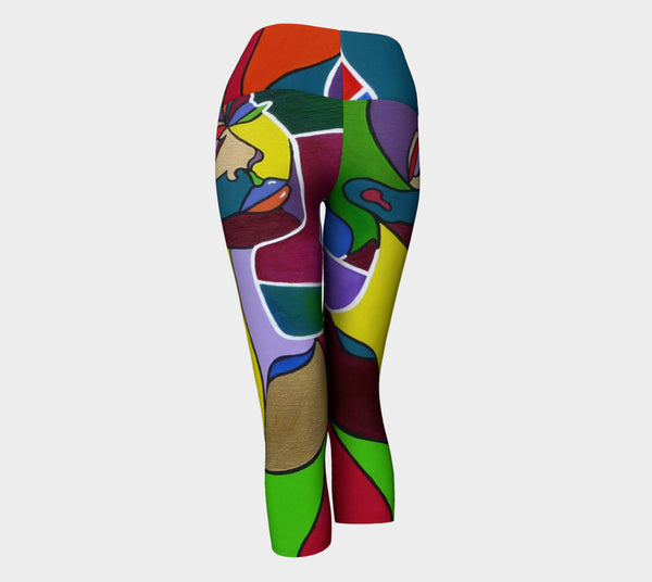 Cosmic Woman Yoga Capris