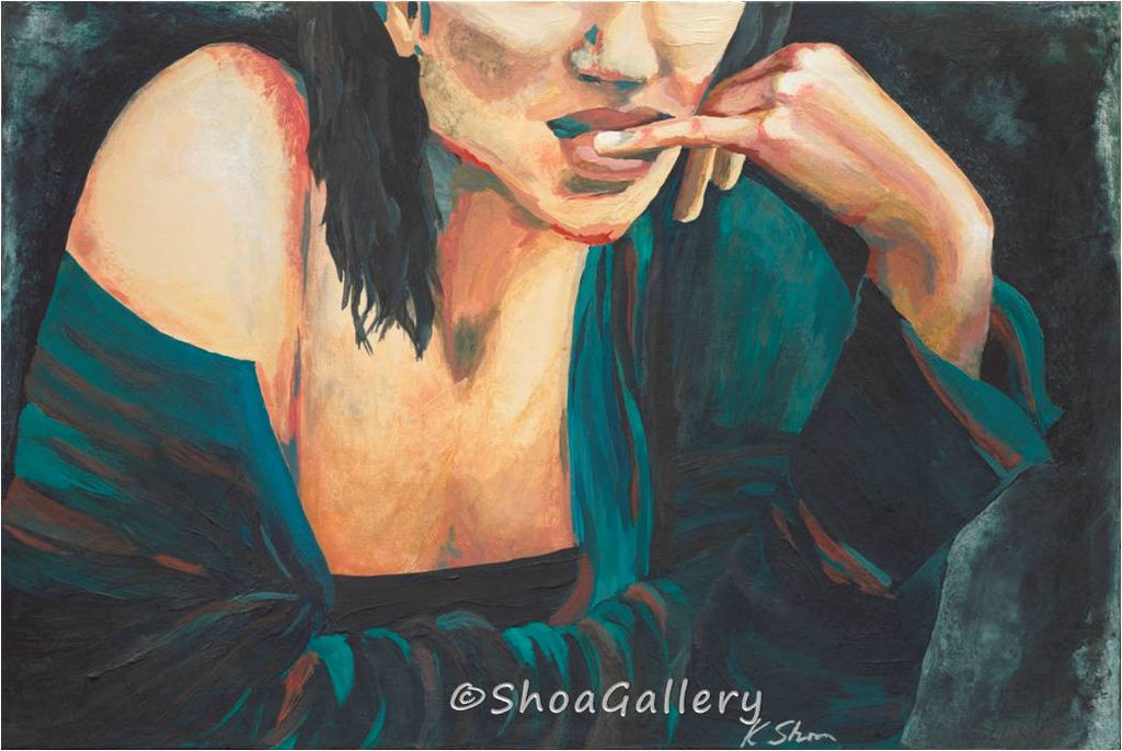 large original painting sexy woman, original painting of woman, painting of sexy woman, large bedroom wall art, large artwork over fireplace mantle, large green black painting, iranian artist, large original painting, large bedroom wall decor, sexy gift for her, classy gift for her, one of a kind gift for her, gift to impress her, special occasion gift for her, black green canvas art, artwork for her