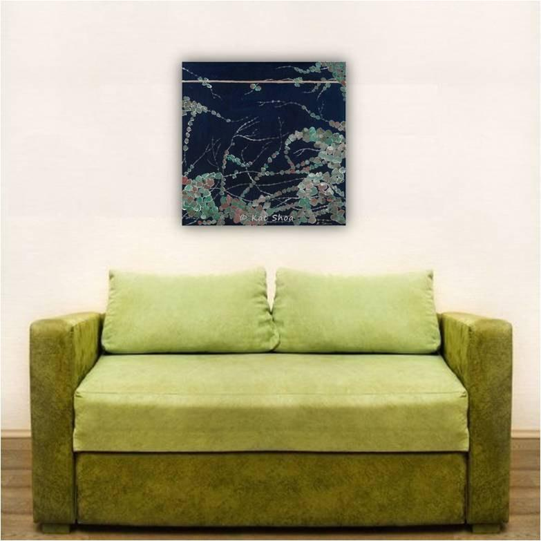 blue living room art; dark blue art over sofa; deep blue wall art for bedroom; dining room wall art; blue canvas art print; blue art print canvas; colorful wall art; home deocrating wall art; wall art home decor