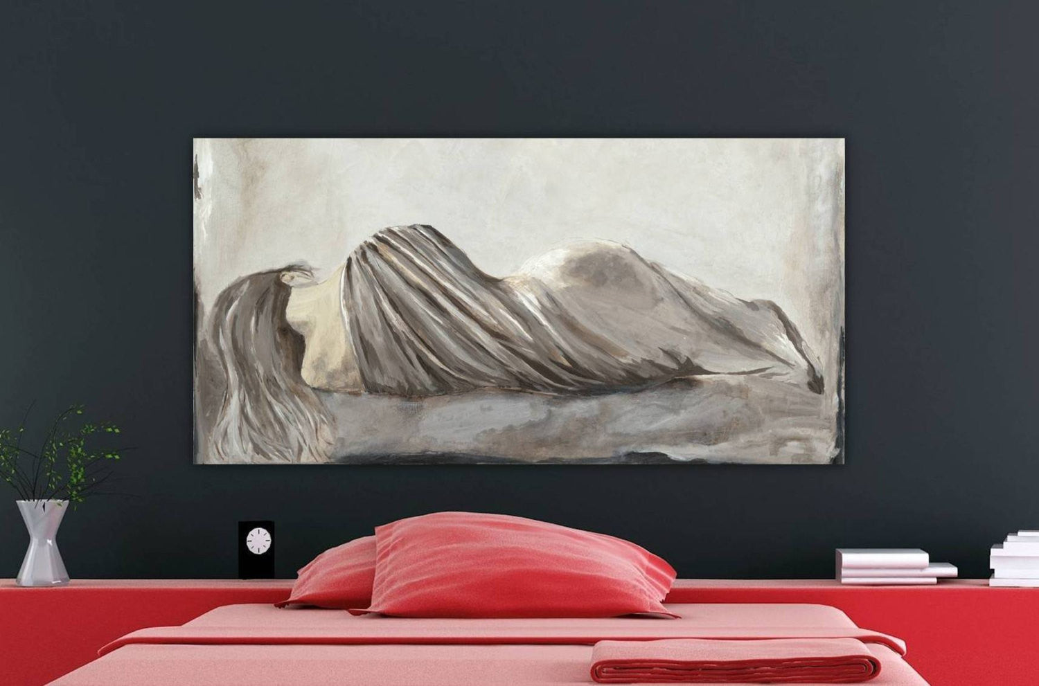 Extra large oversized bedroom wall art sexy canvas art ...