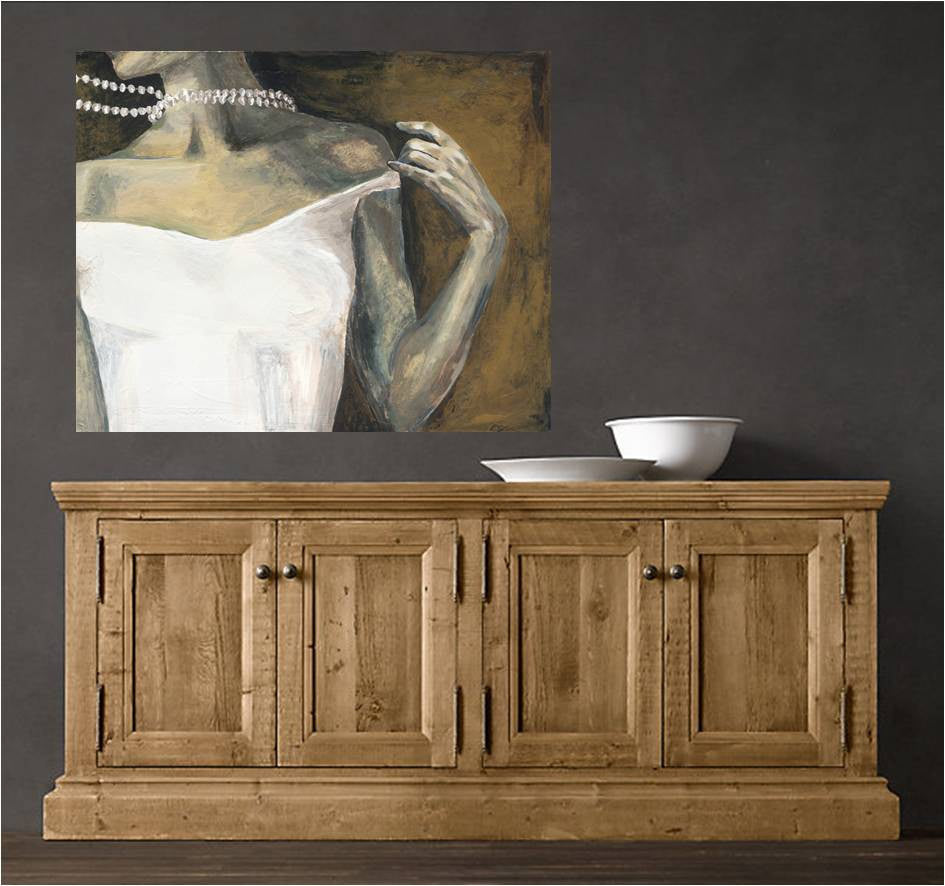 Sexy bedroom wall art extra large canvas print figurative artwork modern home decor