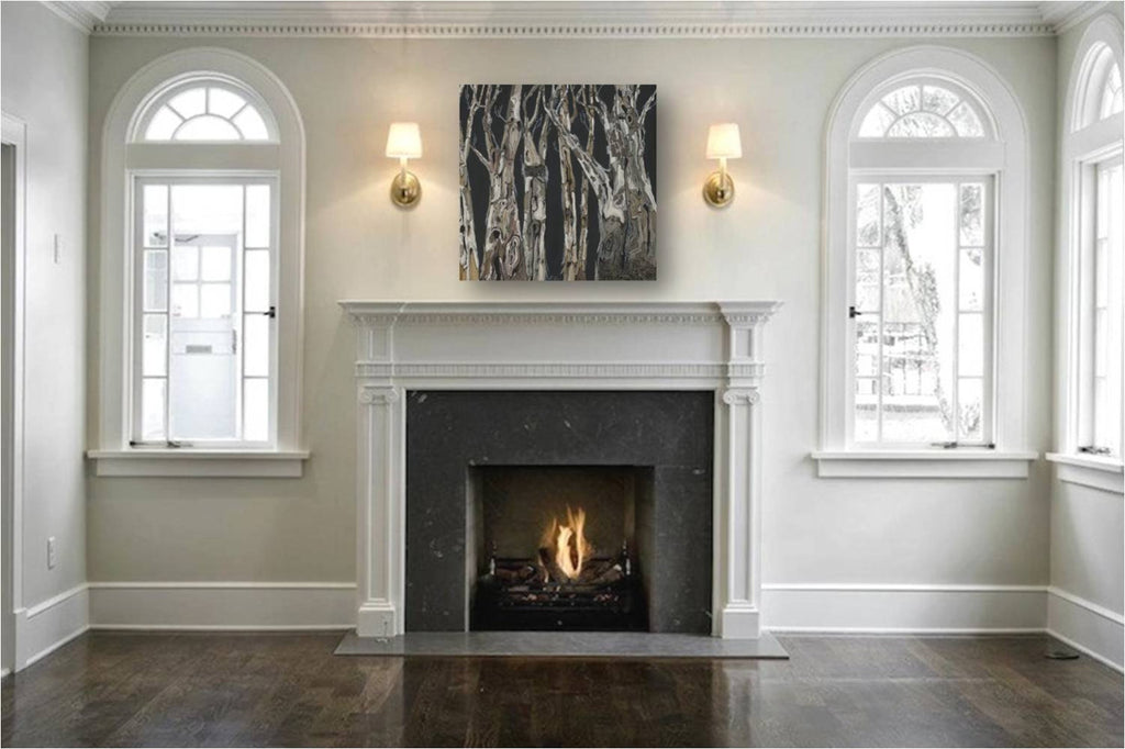 Large fireplace wall art; large masculine black and white wall art; extra large masculine wall decor; large black and white tree art; large tree art for fireplace; large wall art bedroom for men; extra large wall decor for men; wall decor for dining room; black and white office wall decor; masculine office wall art; masculine entryway wall art; masculine kitchen wall art; black and white kitchen wall art