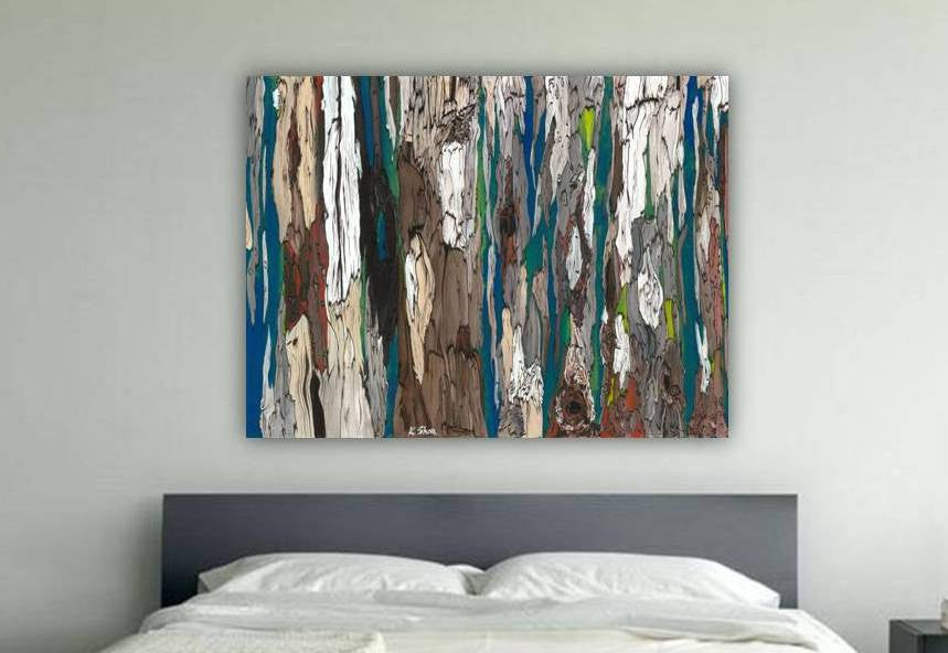 bedroom design inspiration extra large wall art abstract bedroom decor