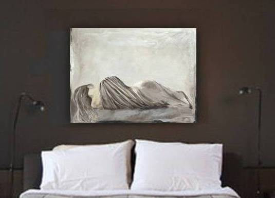large wall art sexy bedroom decor