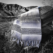 The Ridgemont - Ash/Stone Blanket