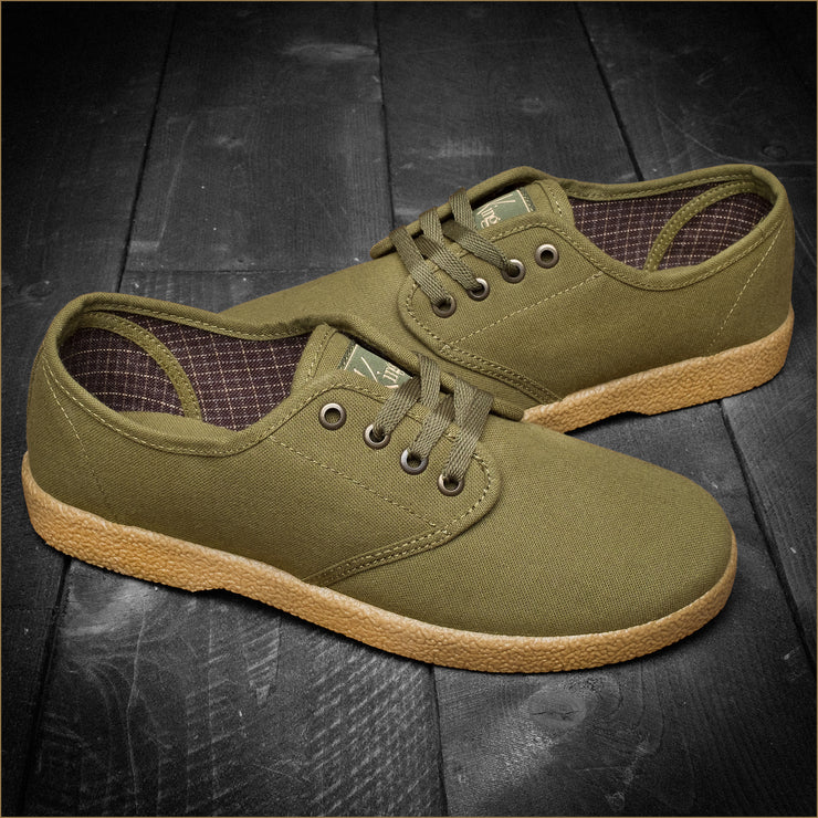 The Wino - Army Green/Gum