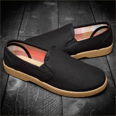 The Wino Slip On - Black/Gum