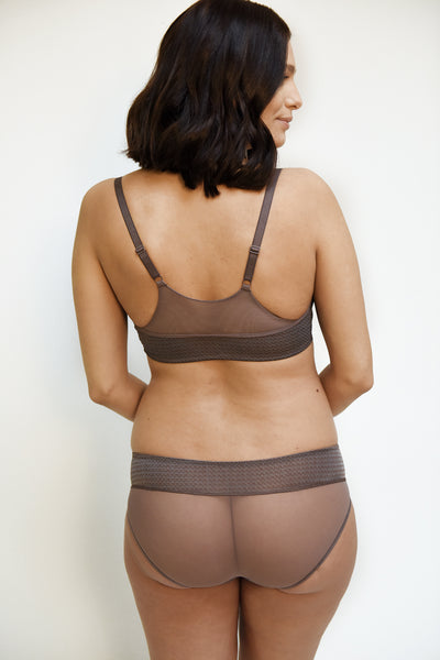 Night Bra - taupe