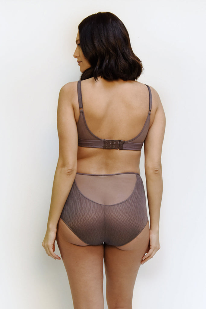 High Waist - taupe