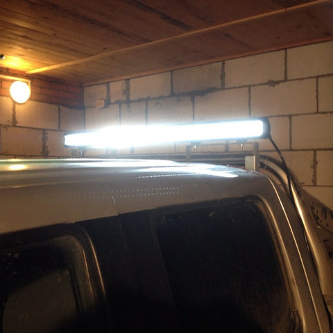 6d led triple row light bar