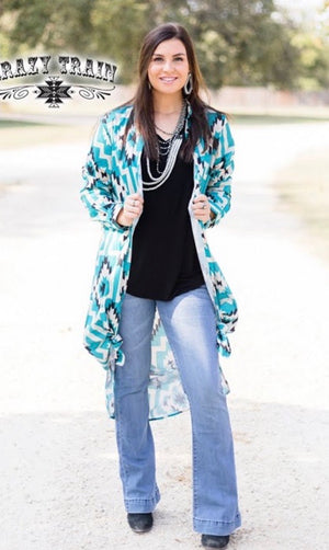 Sally ride Aztec Duster