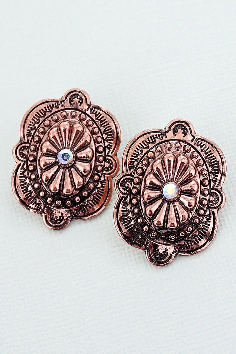 Copper Bonita earrings