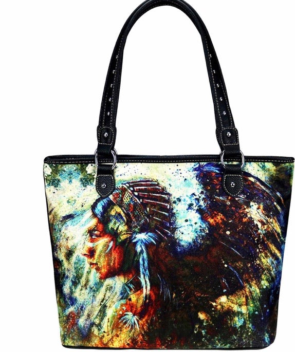 Indian chief tote bag SHIPS 1/24