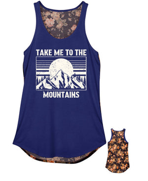 Mountain tank top