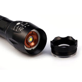 6000 LM Rechargeable XM-L2 Tactical 5-Mode Torch Light - 30% off