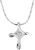 Crystal Cross Necklace - w/Free Shipping