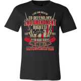 "2nd Amendment ""Live & Breathe"" T-Shirt - 50% Off"