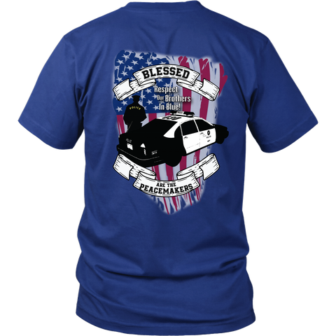 Peacemakers - Respect the Blue - Tee or Hoodie