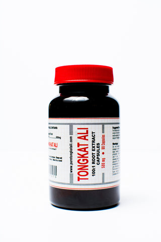 Pure Tongkat Ali Root extract 100:1 500 mg 60 capsules