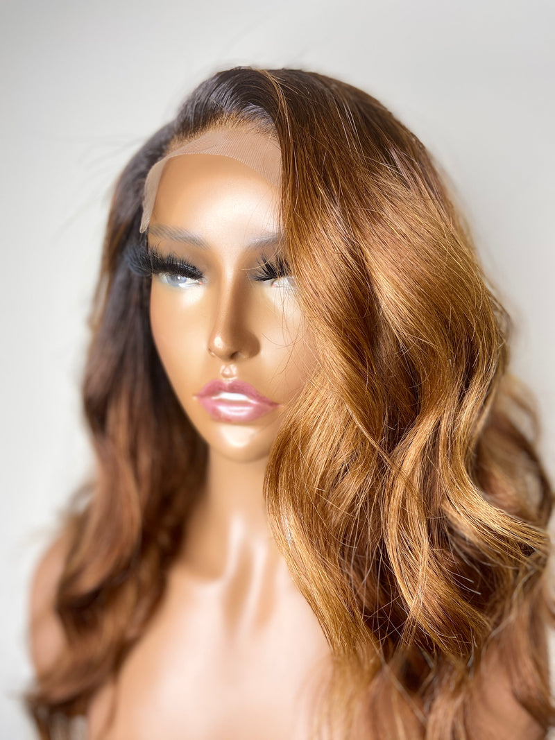 Soft Waves Lace Closure Unit with color