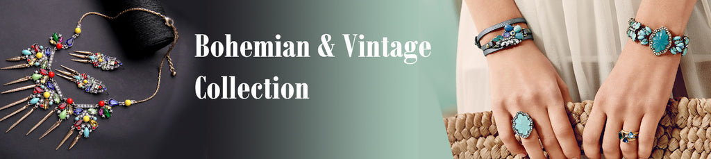 Bohemian Vintage Fashion Jewelry