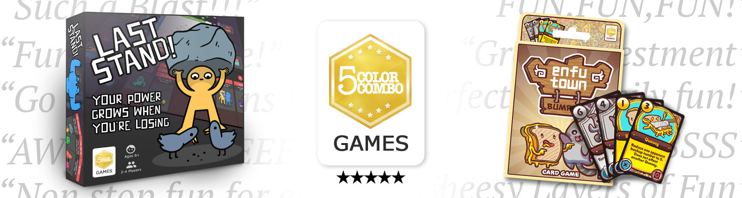 5 Color Combo Games