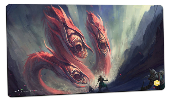 Three Headed Suckers Playmat (Christian Quinot)