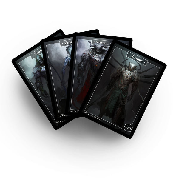 The Four Horsemen Zombies (Double Sided)