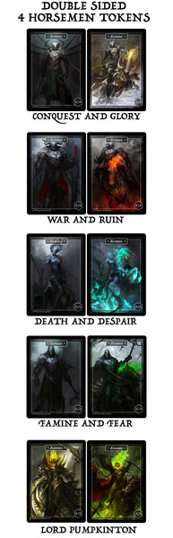 Four Horsemen Collectors Full Token Set (54 Tokens)