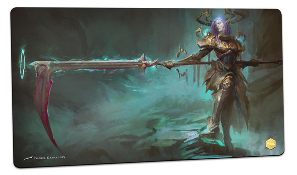 Aoe, Fallen Angel of the Great Swing Playmat (Daniel Kamarudin)