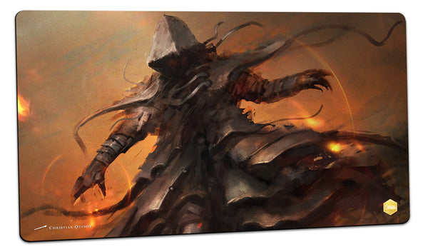 Fire Spell Playmat (Christian Quinot)