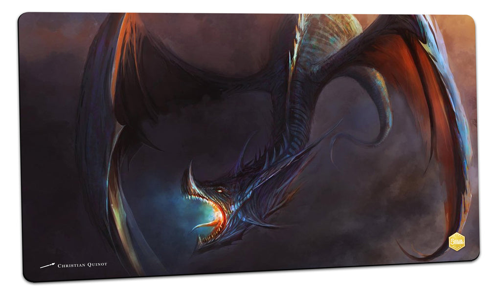 Blue Dragon Playmat (Christian Quinot)
