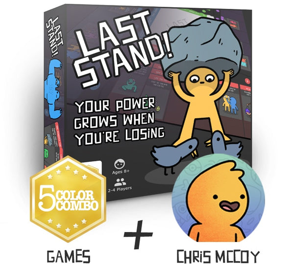 Last Stand - The Board Game Where Your Power Grows As You Lose