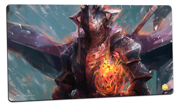 Fiery Knight Playmat (Jason Nguyen)