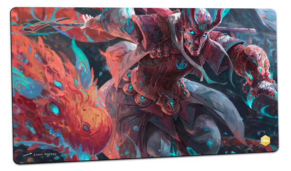 Fire Mystic Playmat (Jason Nguyen)