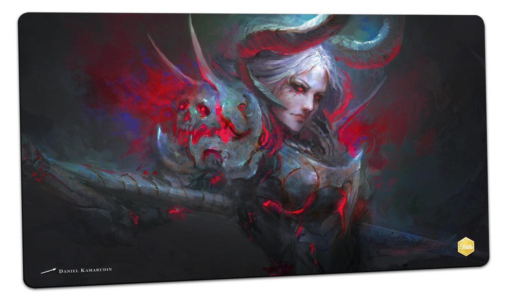 Lady Shoulderpads, the Spaulder Queen Playmat (Daniel Kamarudin)