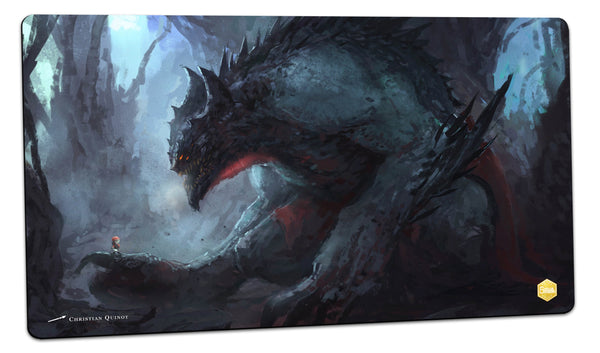 Monstah Playmat (Christian Quinot)