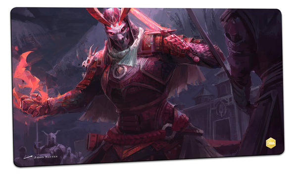 Demon Samurai Playmat (Jason Nguyen)