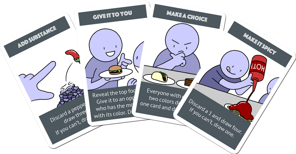 Hangry Thief Card Game