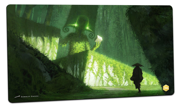 Hey psst, wanna buy some cubes Playmat (Tomislav Jagnjic)