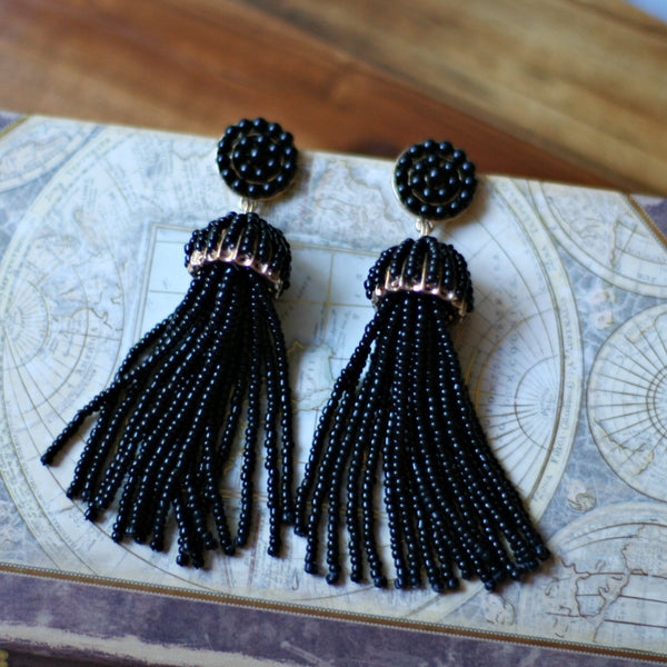 Brisa (Black) Earrings