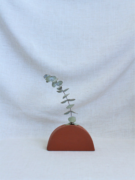 Artful Objects - Terracotta Ikebana Vessel