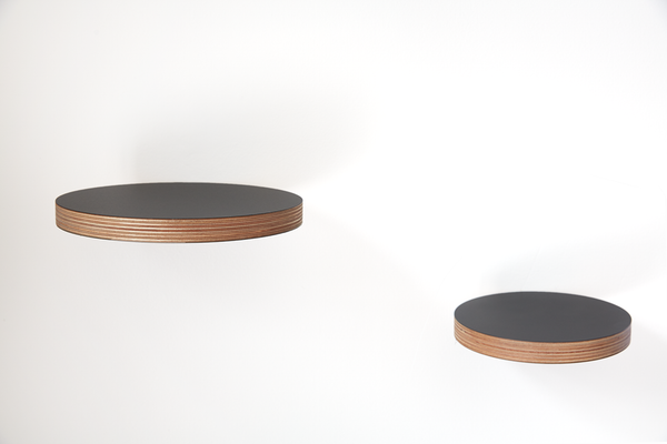 Round Floating Shelf