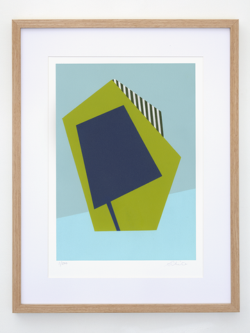 Art Print - Striped Accent