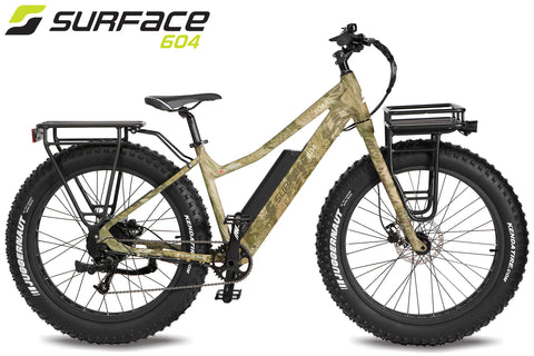 SURFACE 604 - BOAR Camo Fat Bike 2020