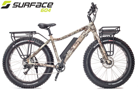 SURFACE 604 - BOAR Camo Fat Bike 2018